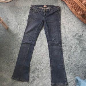 Free People Slim Boot Jean